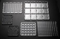 工業用真空成形トレイ