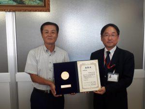 平成30年度ラジオ体操優良団体等表彰を受賞しました。